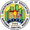This is the official seal of the Schools Division Office-Makati City.