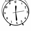 An illustration of a clock.